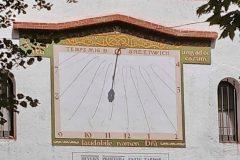 Rellotge solar a Viladrau
