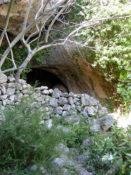 L'abric de Cabrafeixet i la cova de la Mallada (40′)