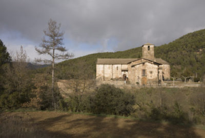 Olius, Iglesia de Sant Esteve