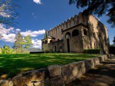 Castell de Montesquiu en BTT